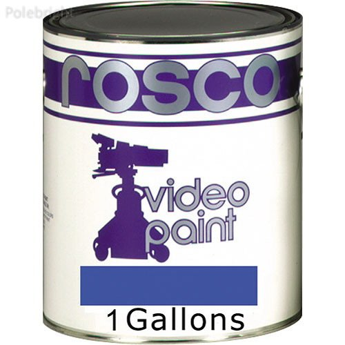Chroma Key Paint (Blue, 1 Gallon) - Polebright update by Polebright