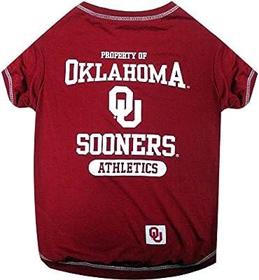info for 6facf 6fd63 NCAA Oklahoma Sooners Dog T-Shirt, Large