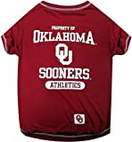 Pets First NCAA OKLAHOMA SOONERS Dog T-Shirt, Medium