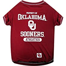 NCAA Oklahoma Sooners Dog T-Shirt, Small