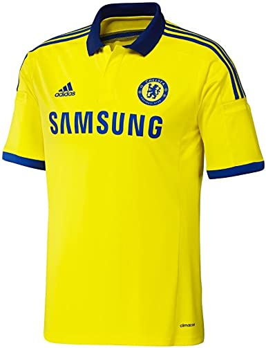 Adidas Chelsea Away Youth Jersey [BYELLO/CHEBLU] (S): Amazon.es ...