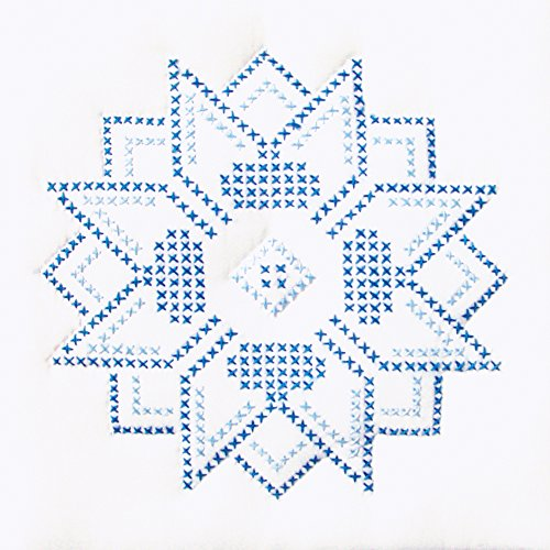Stamped White Quilt Blocks (Stamped White Quilt Blocks 9