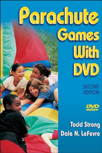 Parachute Games With DVD - 2nd Edition - Right To Play Dvd