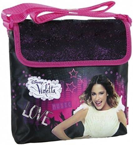 Maxi & Mini – Violetta Music Passion – Bolso a bandolera bandolera Violetta – Disney (18): Amazon.es: Equipaje