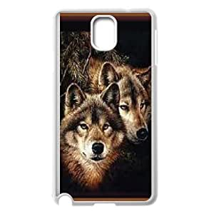 Durable Material Phone Case With Wolf Image On The Back For Samsung Galaxy Note 3