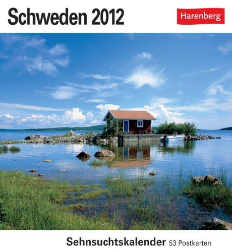 Schweden 2012: Sehnsuchts-Kalender. 53 heraustrennbare Farbpostkarten