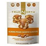 TrueNorth Almond Pecan Cashew Clusters Net Wt 24 Oz (680g) (Pack of 2)
