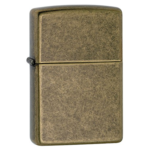 Zippo Antique Brass Lighter - 8