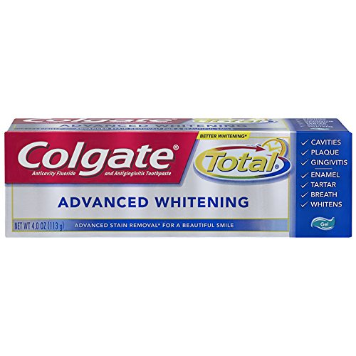 ed Whitening Gel Toothpaste - 4.0 ounce (6 Pack) ()