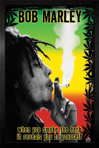 Bob Marley - Smoke The Herb Framed Poster - 94.5x64cm ()