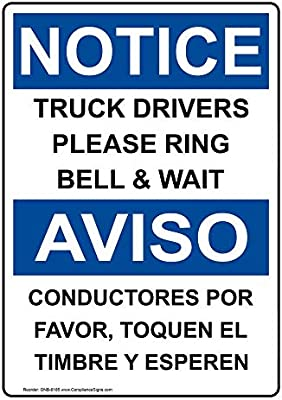 Amazon.com: compliancesigns señal de aviso de OSHA de ...