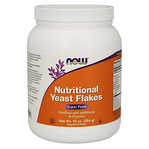 NOW Nutritional Yeast Flakes 10 Ounce