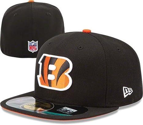 7f5cf902 NFL Mens Cincinnati Bengals On Field 5950 Game Cap By New Era