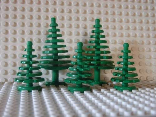 LEGO plants: Little forest with 2 big and 3 little trees