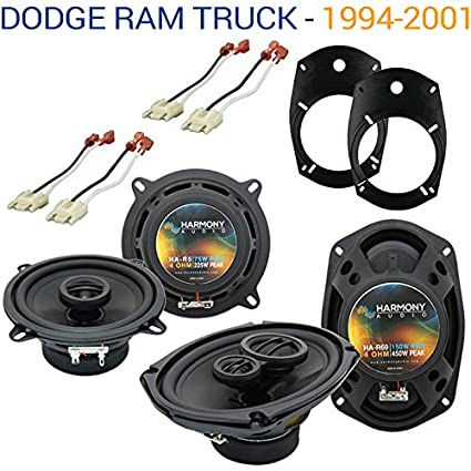 Compatible with Dodge Ram Truck 1994-2001 Factory Speaker Upgrade Harmony on