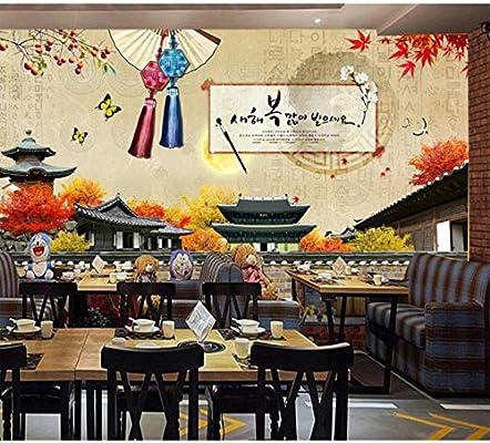 Custom Wallpaper 3d Afternoon Tea Good Time Coffee Street