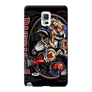 Protective Cell-phone Hard Cover For Samsung Galaxy Note 4 (PeJ26531Dkze) Customized Beautiful New England Patriots Series