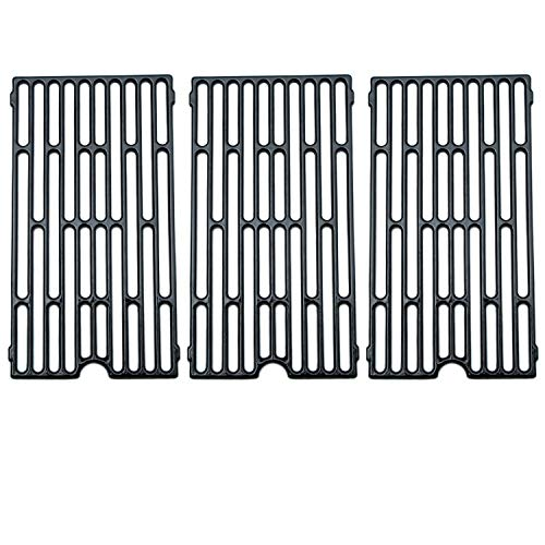 - Direct Store Parts DC105 (3-Pack) Polished Porcelain Coated Cast Iron Cooking Grid Replacement Vermont Castings, Chargriller, Jenn Air Gas Grill (3)