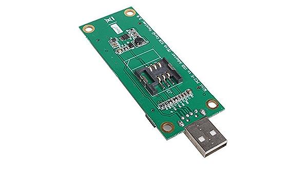 Mini PCI-E inalámbrica WWAN a la tarjeta del adaptador USB ...
