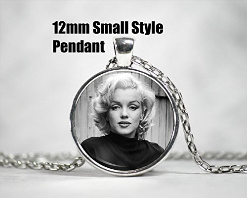 Marilyn Monroe Pendant // 12mm Pendant // Dainty Necklace // Hollywood Actress // Movies and TV // Hollywood Regency // Celebrity Jewelry (Regency Jewelry)