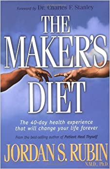 Book The Maker's Diet by Jordan Rubin (2004-03-12)