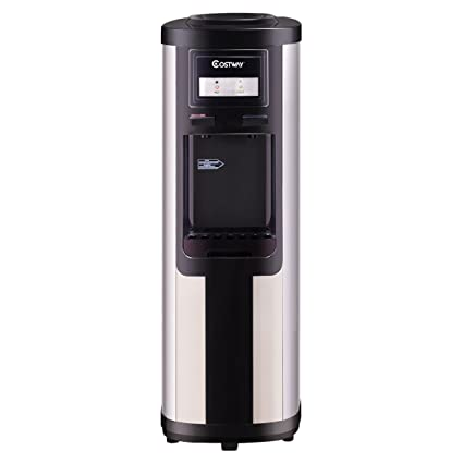 Famous Costway 5 Gallon Water Cooler Dispenser Top Loading Stainless  AW01