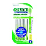 GUM Proxabrush Go-Betweens Cleaners, Tight, Tapered, 8 count