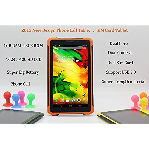 7 Inch Original 3G Phone Call Android Tablet Pc Android 4.2 1Gb Ram 8Gb Rom Wifi Fm Bluetooth Suppoet Usb2.0 7 Coupons