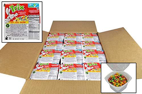 Trix 25 Percent Less Sugar Cereal, 1 Ounce - 96 per ()