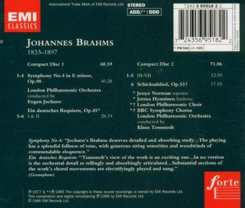 Symphony 4 / German Requiem