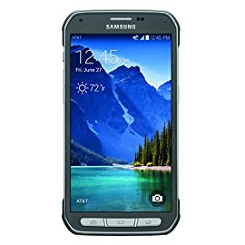 Samsung Galaxy S5 Active, Titanium Gray 16GB (AT&T) 5 Display: 5.1-inches Camera: 16-MP Processor Speed: 2.5 GHz