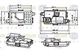 Behr Hella Service 351321651 Mercedes Premium HVAC Blower Motor Regulator
