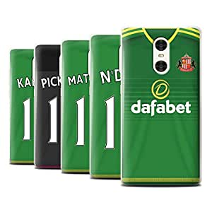 Official Sunderland AFC Phone Case / Cover for Xiaomi Redmi Pro / Pack 24pcs Design / SAFC Away Shirt/Kit 15/16 Collection