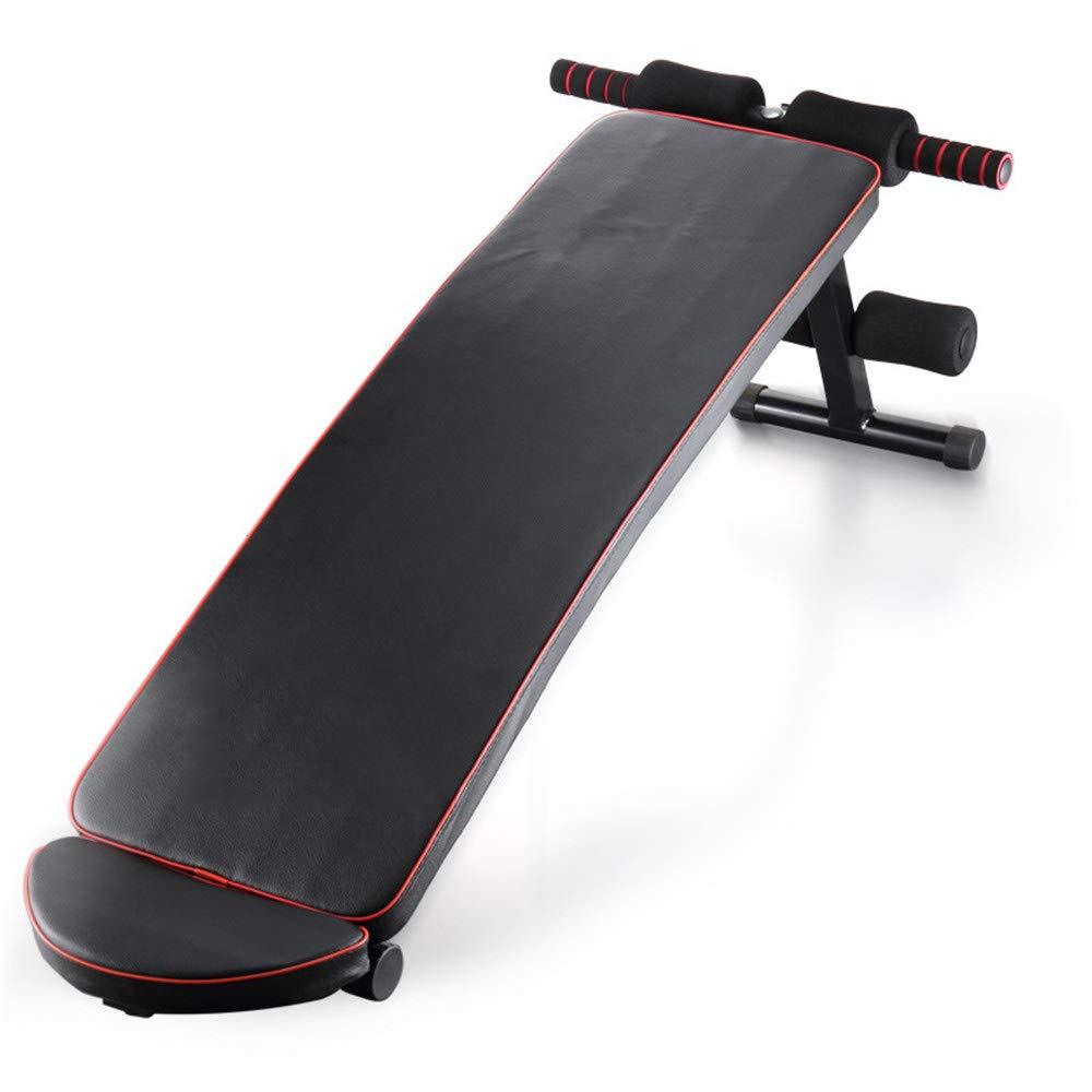 Zhangcaiyun Übungsbank Home Fitness Faul Bauchmuskeln Sit-up Board Fitnessgeräte