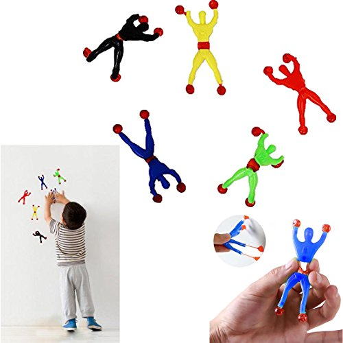 Wall Climber (Action Figure Sticky Rolling Men Wall Climbers 24 per Pack)