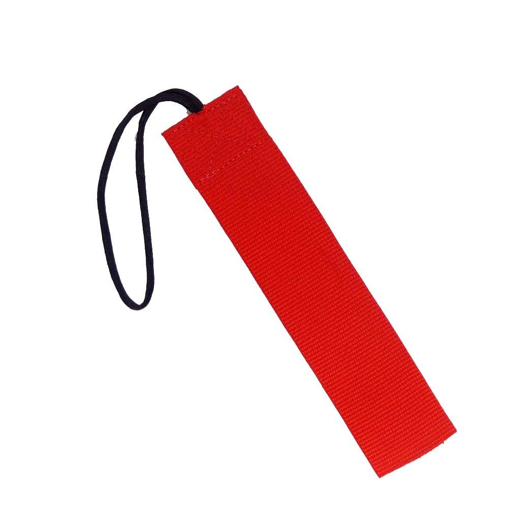 Tac Shield 2-Inch Wide Stealth Gear Tag (2-Pack), Red