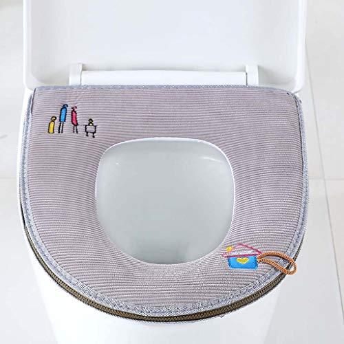 Yuzhijie Badkamer voetstuk pad kussen romp cover stickers type cartoon vier seizoenen waterdichte toilet kussen algemene…