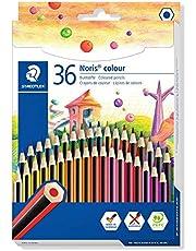 STAEDTLER 185 CD36 Noris kredka barwiąca, różne kolory, opakowanie 36 szt.