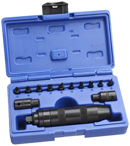 Laser 3456 Impact Driver, 3/8-inch Dia, Set of 13