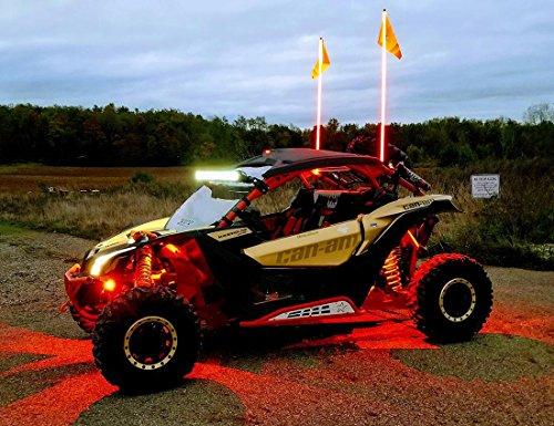 Spike Powersports LED Rock Lights - 4 (Spikes Rock)