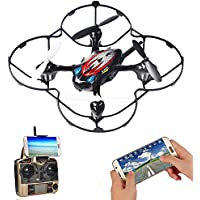 F180W FPV Drone, Mini RC Drone, Quadcopter with 720P HD Camera Live Video,2.4GHz 6-Axis Gyro Easy to Fly for Beginner