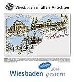 Wiesbaden gestern 2014: Wiesbaden in alten Ansichten, mit 4 Ansichtskarten als Gruß- oder Sammelkarten