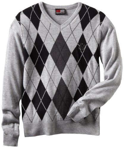 Southpole - Kids Big Boys' Argyle V-Neck Pullover Sweater