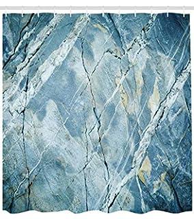 Abakuhaus Mármol Cortina de Baño, Exquisita Piedra de Granito Arquitectura Piso Artístico Naturaleza Roca,