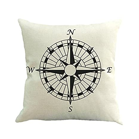 Go First Fundas de Almohada, Arrow Compass Fundas de ...