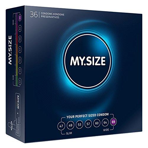 70 opinioni per My.Size- Profilattici, 69 mm, 36