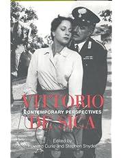 Vittorio De Sica: Contemporary Perspectives (Toronto Italian Studies)