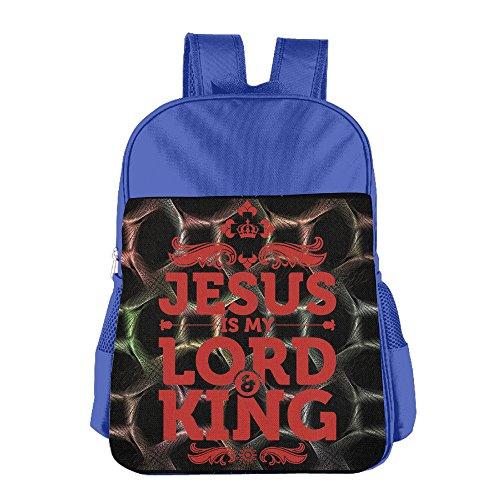 (Jesus Is My Lord And King Kids School Backpack Bag)