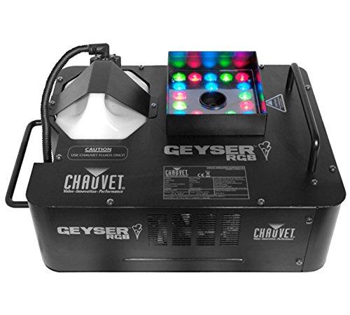 [Chauvet DJ Geyser RGB Pyro LED Light Fog Blast Machine (Certified Refurbished)] (Small Fog Machines)