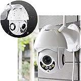Camera Speed Dome IP Giratoria HD Wifi Externa Segurança Noturna Resiste Agua